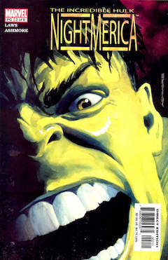 Copertina HULK NIGHTAMERICA n.2 - HULK NIGHTAMERICA            2, MARVEL COMICS USA