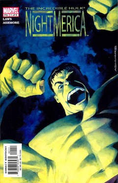 Copertina HULK NIGHTAMERICA n.1 - The Quarry, MARVEL COMICS USA