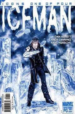 Copertina ICEMAN n.1 - Iceman Cometh, MARVEL COMICS USA