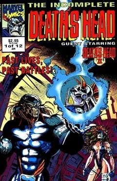 Copertina INCOMPLETE DEATH'S HEAD n.1 - DEATH'S HEAD INCOMPLETE      1, MARVEL COMICS USA