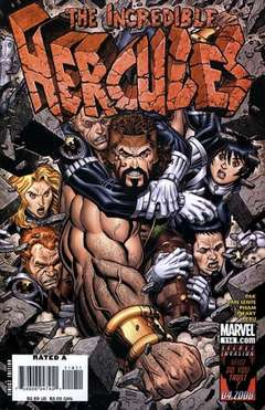 Copertina INCREDIBLE HERCULES n.114 - Walls of Troy, MARVEL COMICS USA