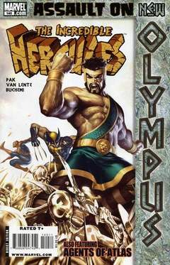Copertina INCREDIBLE HERCULES n.140 - Assault on New Olympus, Act III: The Fourth Extinction, MARVEL COMICS USA