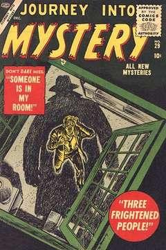 Copertina JOURNEY INTO MYSTERY n.29 - JOURNEY INTO MYSTERY        29, MARVEL COMICS USA