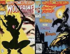 Copertina MARVEL COMICS PRESENTS n.112 - Push My Buttons/Demogoblin's Lament/Showdown/Picnic, MARVEL COMICS USA
