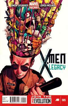 Copertina X-MEN LEGACY 2013 n.5 - X-MEN LEGACY 2013            5, MARVEL COMICS USA