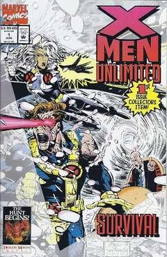 Copertina X-MEN UNLIMITED 1993 n.1 - Follow the Leader, MARVEL COMICS USA