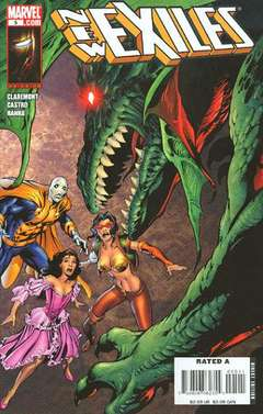 Copertina NEW EXILES n.5 - Did You Ever Have One of Those Days?, MARVEL COMICS USA