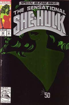 Copertina SENSATIONAL SHE HULK 1989 n.50 - He's Dead?!, MARVEL COMICS USA