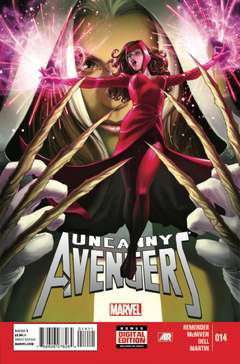 Copertina UNCANNY AVENGERS 2012 n.14 - The Day Nor The Hour, MARVEL COMICS USA