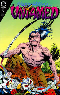 Copertina UNTAMED n.3 - Wounds of Equal People, Part 3 - Going Hot, MARVEL COMICS USA