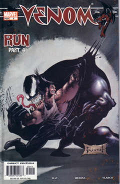 Copertina VENOM 2003 n.9 - Run. Part 4, MARVEL COMICS USA