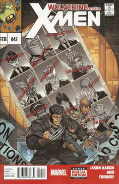 Copertina WOLVERINE & THE X-MEN n.42 - WOLVERINE & THE X-MEN       42, MARVEL COMICS USA