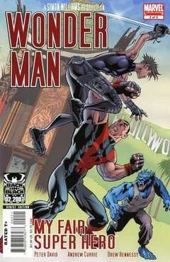 Copertina WONDER MAN 2007 n.2 - My Fair Super Hero, Part 2, MARVEL COMICS USA