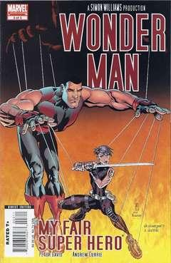 Copertina WONDER MAN 2007 n.3 - My Fair Super Hero, Part 3, MARVEL COMICS USA