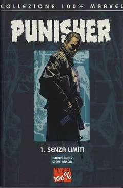 Copertina 100% MARVEL n.1 - PUNISHER SENZA LIMITI, MARVEL ITALIA