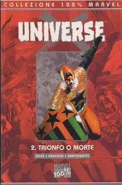 Copertina 100% MARVEL n.4 - UNIVERSE X TRIONFO O MORTE, MARVEL ITALIA