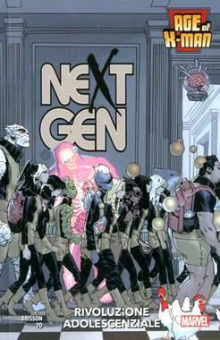 Copertina AGE OF X-MAN n.2 - NEXT GEN, MARVEL ITALIA