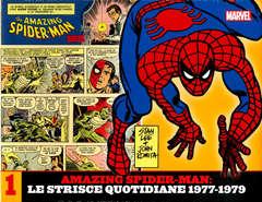Copertina AMAZING SPIDER-MAN LE STRISCE n.1 - LE STRISCE QUOTIDIANE 1977-1979, MARVEL ITALIA