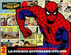 Copertina AMAZING SPIDER-MAN LE STRISCE n.2 - LE STRISCE QUOTIDIANE 1979-1981, MARVEL ITALIA