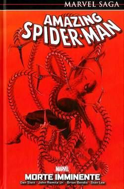 Copertina AMAZING SPIDER-MAN MARVEL SAGA n.10 - MORTE IMMINENTE, MARVEL ITALIA