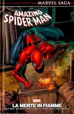 Copertina AMAZING SPIDER-MAN MARVEL SAGA n.6 - LA MENTE IN FIAMME, MARVEL ITALIA