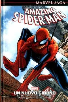 Copertina AMAZING SPIDER-MAN MARVEL SAGA n.1 - UN NUOVO GIORNO, MARVEL ITALIA