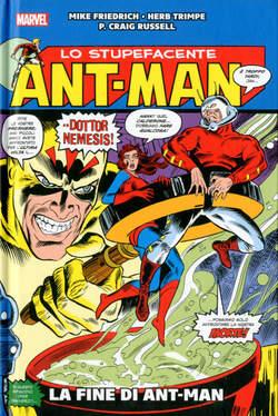 Copertina ANT-MAN LA FINE DI ANT-MAN n. - LA FINE DI ANT-MAN, MARVEL ITALIA