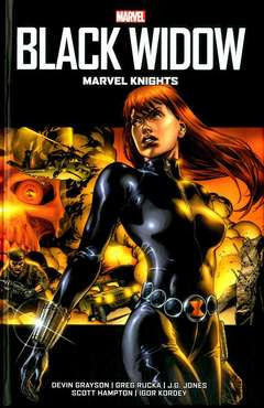 Copertina BLACK WIDOW MARVEL KNIGHTS n. - MARVEL KNIGHTS, MARVEL ITALIA