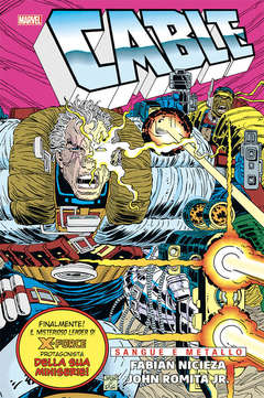 Copertina CABLE SANGUE E METALLO n. - CABLE SANGUE E METALLO, MARVEL ITALIA