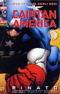 Copertina CAPITAN AMERICA (nuova serie) n.1 - CAPITAN AMERICA: RINATO!, MARVEL ITALIA