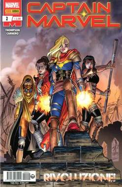 Copertina CAPTAIN MARVEL n.2 - CAPTAIN MARVEL, MARVEL ITALIA