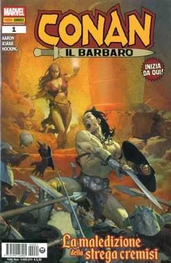 Copertina CONAN IL BARBARO Nuova Serie n.1 - CONAN IL BARBARO, MARVEL ITALIA