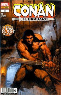 Copertina CONAN IL BARBARO Nuova Serie n.8 - CONAN IL BARBARO, MARVEL ITALIA