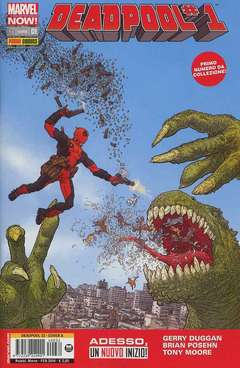 Copertina DEADPOOL Now n.1 - Cover A, MARVEL ITALIA
