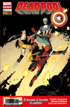 Copertina DEADPOOL Now n.8 - DEADPOOL, MARVEL ITALIA