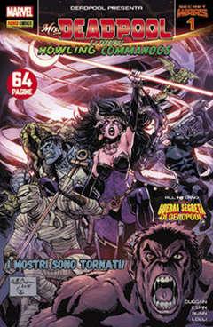 Copertina DEADPOOL serie n.56 - MS. DEADPOOL E I TERRIBILI HOWLING COMMANDOS 1, MARVEL ITALIA