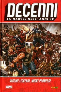 Copertina DECENNI n.8 - VECCHIE LEGGENDE,NUOVE PROMESSE, MARVEL ITALIA