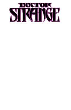 Copertina DOCTOR STRANGE 6 Variant n. - WHITE Cover, MARVEL ITALIA