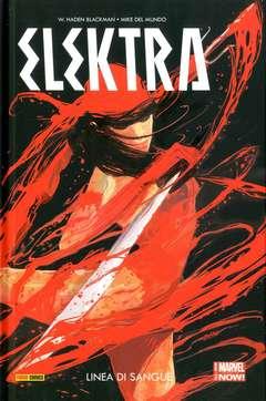 Copertina ELEKTRA n.1 - LINEA DI SANGUE, MARVEL ITALIA