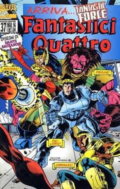 Copertina FANTASTICI QUATTRO n.137 - FANTASTICI QUATTRO         137, MARVEL ITALIA