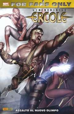 Copertina FOR FANS ONLY n.11 - ERCOLE: ASSALTO A NUOVO OLIMPO, MARVEL ITALIA