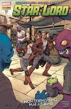 Copertina GUARDIANI GALASSIA PRESENTA n.22 - STAR-LORD 7, MARVEL ITALIA