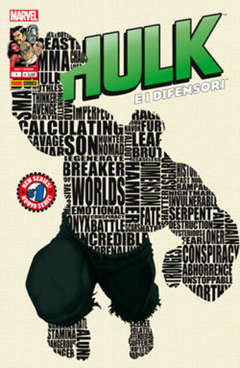 Copertina HULK E I DIFENSORI n.1 - Cover HULK, MARVEL ITALIA