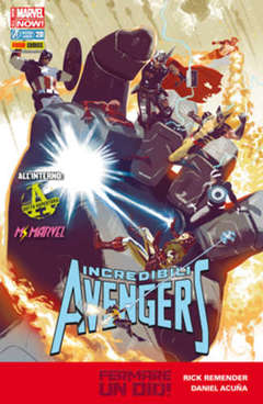 Copertina INCREDIBILI AVENGERS n.20 - INCREDIBILI AVENGERS, MARVEL ITALIA