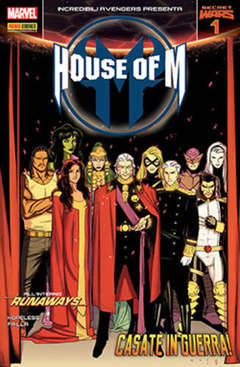 Copertina INCREDIBILI AVENGERS n.29 - HOUSE OF M 1, MARVEL ITALIA