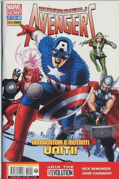 Copertina INCREDIBILI AVENGERS n.2 - MARVEL NOW!, MARVEL ITALIA