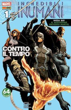 Copertina INCREDIBILI INUMANI n.1 - INCREDIBILI INUMANI, MARVEL ITALIA