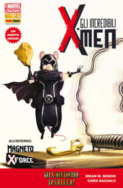 Copertina INCREDIBILI X-MEN 14 Variant n. - Cover B, MARVEL ITALIA