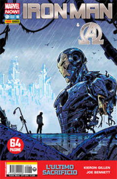 Copertina IRON MAN n.18 - IRON MAN & NEW AVENGERS, MARVEL ITALIA