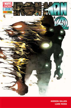 Copertina IRON MAN n.20 - IRON MAN & NEW AVENGERS, MARVEL ITALIA
